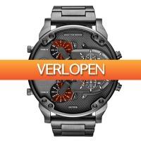Watch2day.nl: Diesel Mr. Daddy XXXL Chronograph