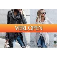 VoucherVandaag.nl: Knitted tassel vest