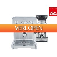 iBOOD.be: Solis Barista Perfect Pro 118 en Caffissima 1611