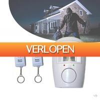 Wilpe.com - Home & Living: Draadloos alarm met bewegingssensor