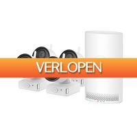 Epine.nl: HomeGuard HGNVK-68004 draadloos camerasysteem