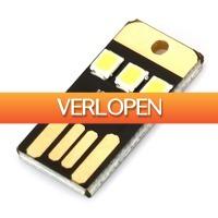 Uitbieden.nl: USB LED Licht 22 lumen 0.2 Watt lamp voor Laptops en PCs
