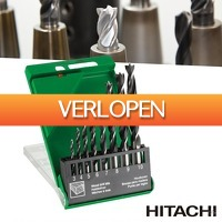 Wilpe.com - Tools: 8-delige Hitachi Hikoki hout spiraalboren