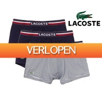 Groupdeal 2: 3-pack Lacoste boxershorts