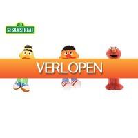 DealDonkey.com 4: Sesamstraat knuffels - 3 stuks - Bert, Ernie en Elmo