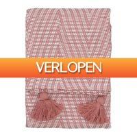 HEMA.nl: Plaid 130 x 150 cm terra
