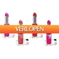 Groupon 3: 4 x Maybelline 14-Hour lipsticks