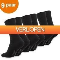 CheckDieDeal.nl: 9 paar Diabetes sokken