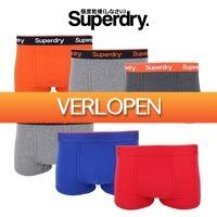 Elkedagietsleuks HomeandLive: 3-Pack boxershorts van Superdry