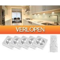 Groupdeal: 5-pack The White Series LED-spots
