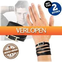 voorHEM.nl: Stoere wikkelarmband