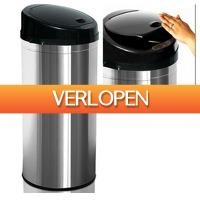 Grotekadoshop.nl: Prullenbak met sensor