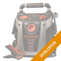 Black & Decker jumpstarter voor auto