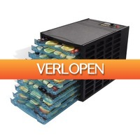 VidaXL.nl: vidaXL voedseldroger met 10 lades