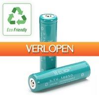 Dealbanana.com: Oplaadbare 18650 Li-ion batterijen