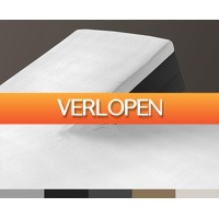 Groupdeal: Set van 2 splittopper hoeslakens