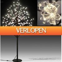 Grotekadoshop.nl: Kerstboom Bloesem met 220 LEDs