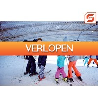 iBOOD.com: SnowWorld Voucher 4 uur skien of snowboarden met pizza of burger