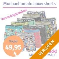 4-pack Muchachomalo boxershorts verrassingspakket
