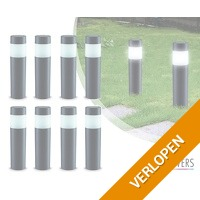 8 x LED Lovers solar tuinlampen