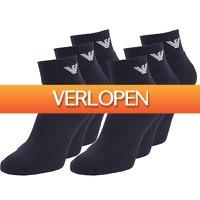 24dealstore.nl: 6-pack Emporio Armani sokken Navy