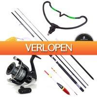 Visdeal.nl: Uitgebreide Match set met Sensas hengel, molen en accessoires