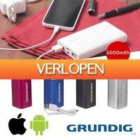 Wilpe.com - Elektra: Grundig powerbank 6000 mAh