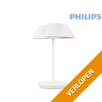 Philips Nonagon houten tafellamp