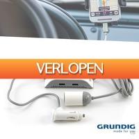 Wilpe.com - Elektra: Grundig autolader mobiele adapter 12/24 V