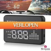 Wilpe.com - Outdoor: Ninyas HUD projectie snelheidsmeter