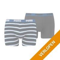2 x Puma Boxer Retro Stripe boxershorts