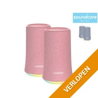 2 x Anker Soundcore Flare Bluetooth speaker