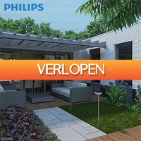 6deals.nl: Philips myGarden RVS tuinlamp op zonne-energie