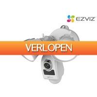 iBOOD.com: Ezviz Floodlight LC1 slimme Full-HD beveiligingscamera