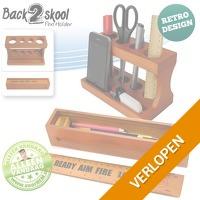Back2Skool pennenhouder en -bakje