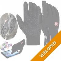 Warme waterafstotende handschoenen