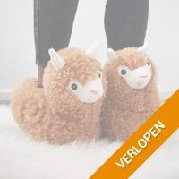 Alpaca Pantoffels voor volwassenen
