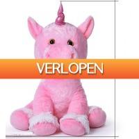 Grotekadoshop.nl: XXL pluche eenhoorn