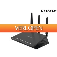iBOOD.be: Netgear AC1900 dual band gigabit WiFi router