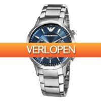 Watch2day.nl: Emporio Armani AR2448 Chronograph herenhorloge