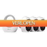 Epine.nl: EZVIZ C3 A camera-set met basisstation