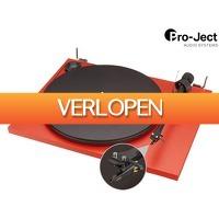 iBOOD Electronics: Pro-Ject Essential II Platenspeler | Phono | USB | Ortofon OM-5 Element en Naald