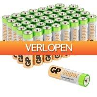 Alternate.nl: GP Alkaline Super 40 x AA