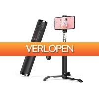 DealDonkey.com 3: Inklapbare selfie stick met Bluetooth