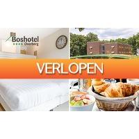 SocialDeal.nl: Overnachting + ontbijt voor 2 in bosrijke omgeving
