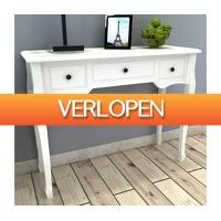 VidaXL.nl: Bijzetkastje