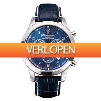 Watch2day.nl: Fromanteel Amsterdam Swiss Made Chrono Nautique Blue