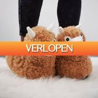 MegaGadgets: Alpaca Pantoffels voor volwassenen