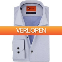 Suitableshop: Suitable overhemd wit Wesley