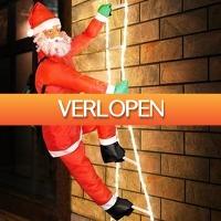Grotekadoshop.nl: Kerstman op touwladder